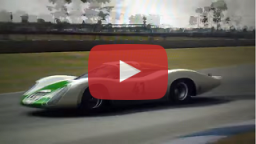 Le Mans Classics mod (LMC) - Porsche 907 LH sample at GT Legends game