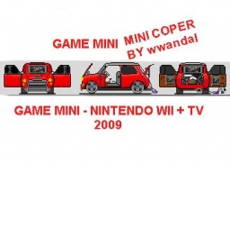 MINI - NINTENDO WII CAR
